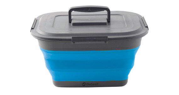 Outwell Collaps Storage Camping box L grijs/blauw